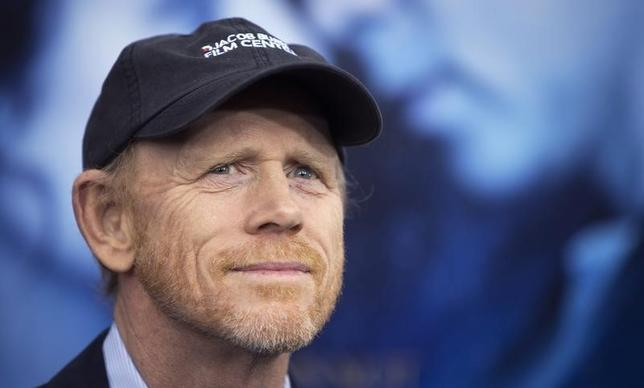 Director Ron Howard arrives for the premiere of the movie ''Winter's Tale'' in New York February 11, 2014.  REUTERS/Carlo Allegri
