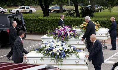 Funeral held for six killed in Texas family shooting