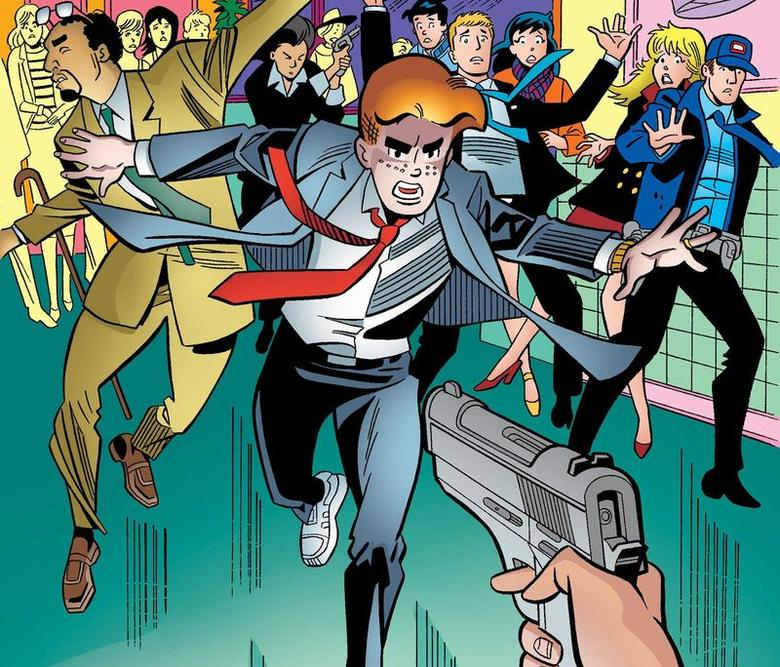 An image from an issue of ''Life with Archie'' is pictured courtesy of Archie Comics Publications. REUTERS/Archie Comics Publications/Handout via Reuters