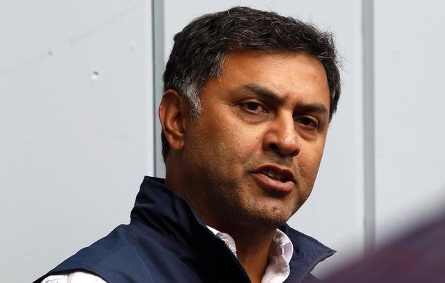 Nikesh Arora, Google chief business officer speaks at a news conference at the annual Allen and Co. conference in Sun Valley, Idaho Resort July 11, 2013. REUTERS/Rick Wilking/Files