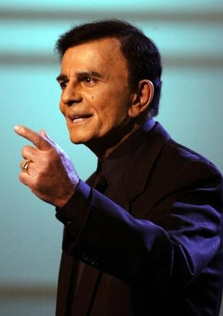 U.S. television and radio personality Casey Kasem appears on the ''American Top 40 Live'' show in Los Angeles April 24, 2005. REUTERS/Lee Celano