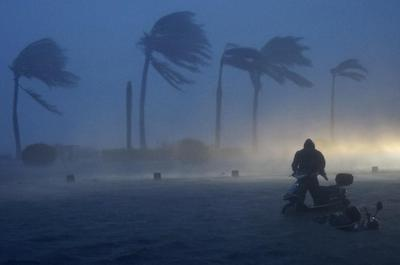 Typhoon batters Asia