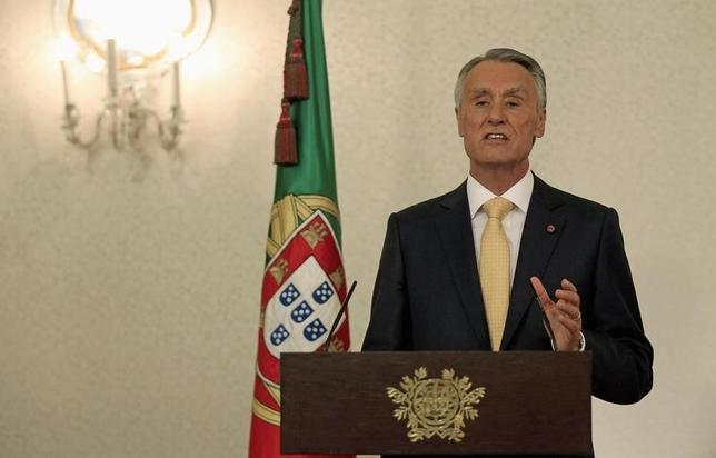 Portugal's President Anibal Cavaco Silva speaks during a news conference at Belem presidential palace in Lisbon July 21, 2013.   REUTERS/Jose Manuel Ribeiro