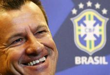 Dunga durante entrevista no Rio de Janeiro. 22/7/2014. REUTERS/Ricardo Moraes