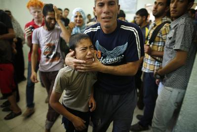 UN school in Gaza hit