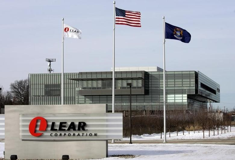 The headquarters of Lear Corp., an auto parts maker, is seen in Southfield, Michigan February 9, 2007. REUTERS/Rebecca Cook