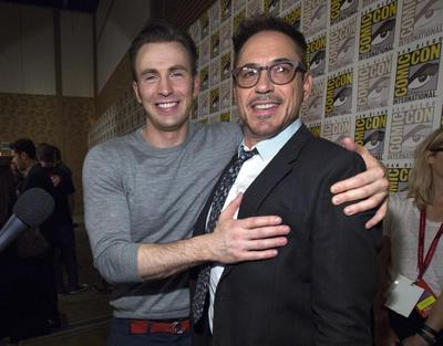 Celebrities at Comic-Con