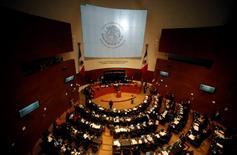 Imagen de archivo de un debate en la Cámara de Diputados de México en Ciudad de México, dic 10 2013. El pleno de la Cámara de Diputados de México comenzó a discutir el lunes la letra pequeña de la reforma energética, una de las últimas puertas que el Gobierno necesita abrir para permitir la entrada de inversores privados a la estratégica industria de los hidrocarburos.  REUTERS/Henry Romero