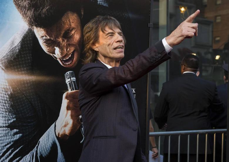 Musician Mick Jagger attends the premiere of 'Get on Up' in New York in this file photo taken July 21, 2014. REUTERS/Eric Thayer/Files