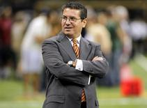 Washington Redskins owner Daniel Snyder is seen on the sideline before their NFL football game against the New Orleans Saints in New Orleans, Louisiana September 9, 2012. REUTERS/Jonathan Bachman