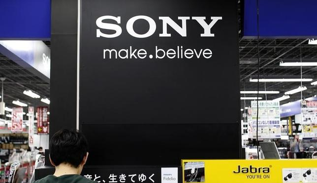 A logo of Sony Corp is pictured at an electronic store in Tokyo May 14, 2014. REUTERS/Toru Hanai/Files