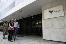 Uma das sedes da mineradora Vale, no Rio de Janeiro. 12/02/2008. REUTERS/Sergio Moraes