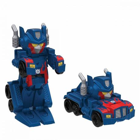 Angry Birds Transformers Telepods racer Optimus Prime. REUTERS/Hasbro