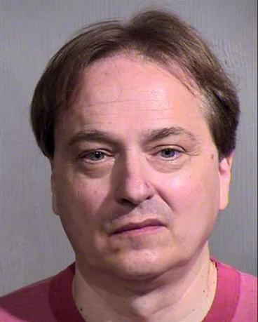 Peter Steinmetz, 54, is seen in an undated picture released by the Maricopa County Sheriff's Office in Phoenix, Arizona.   REUTERS/Maricopa County Sheriff's Office/Handout