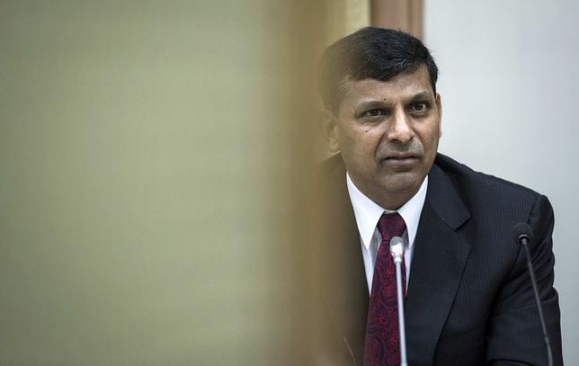The Reserve Bank of India (RBI) Governor Raghuram Rajan speaks during a news conference after the bi-monthly monetary policy review in Mumbai August 5, 2014.  REUTERS/Danish Siddiqui
