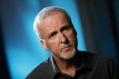 James Cameron concede entrevista na Califórnia, em 8 de abril.     REUTERS/Lucy Nicholson