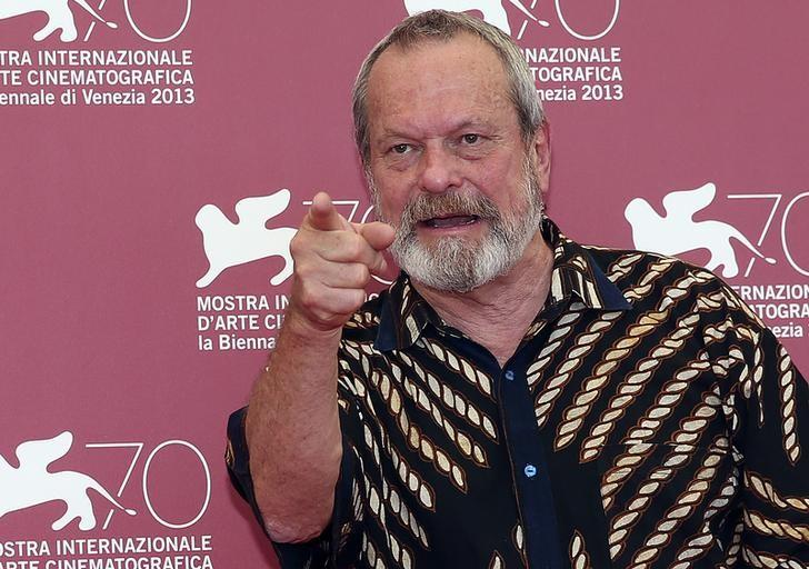 Director Terry Gilliam poses during a photocall for his movie ''The Zero Theorem'' during the 70th Venice Film Festival in Venice September 2, 2013. REUTERS/Alessandro Bianchi
