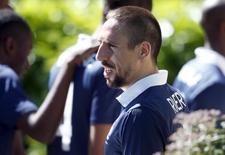 Franck Ribéry anuncia aposentadoria da seleção francesa. Foto de 6 de junho de 2014.  REUTERS/Charles Platiau