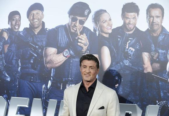 Cast member Sylvester Stallone attends the premiere of the film ''The Expendables 3'' in Los Angeles August 11, 2014. REUTERS/Phil McCarten