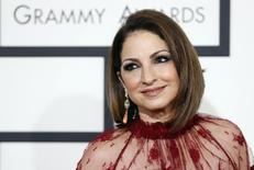 Musician Gloria Estefan arrives at the 56th annual Grammy Awards in Los Angeles, California January 26, 2014.     REUTERS/Danny Moloshok
