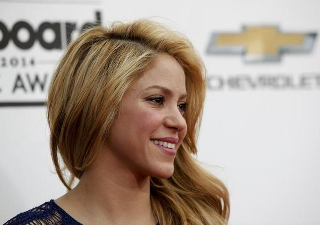 Singer Shakira arrives at the 2014 Billboard Music Awards in Las Vegas, Nevada May 18, 2014.   REUTERS/L.E. Baskow