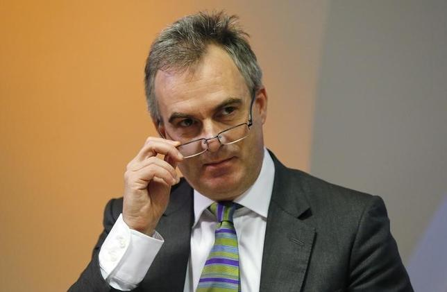 Bank of England Deputy Governor Ben Broadbent speaks during the bank's quarterly inflation report news conference at the Bank of England in London August 13, 2014. REUTERS/Suzanne Plunkett
