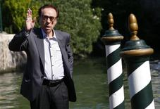 Director Peter Bogdanovich poses as he arrives to attend the 71st Venice Film Festival in Venice August 29, 2014. REUTERS/Tony Gentile