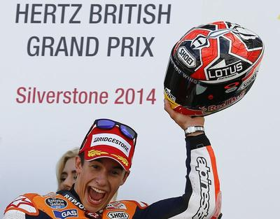 Marquez takes 11th win of season at Silverstone