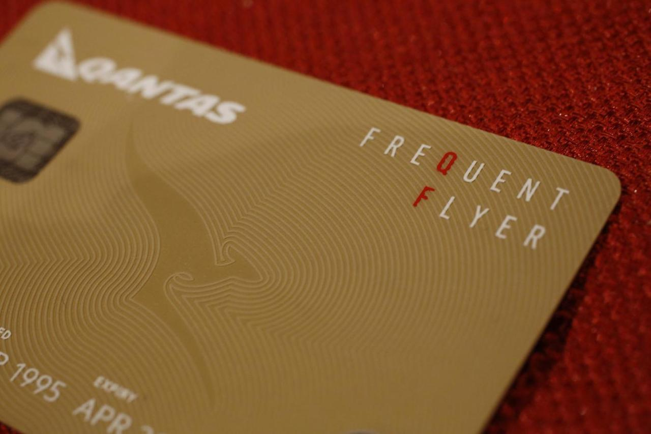 Qantas loyalty rewards amp loyalty programs australia - A Qantas Airlines Frequent Flier Card Is Seen In This Photo Illustration In Sydney September 1 2014 Reuters Jason Reed