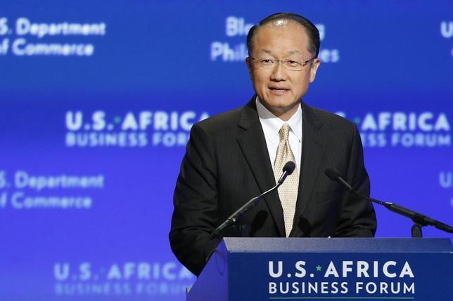 World Bank President Jim Yong Kim addresses the U.S.-Africa Business Forum in Washington August 5, 2014.  REUTERS/Jonathan Ernst