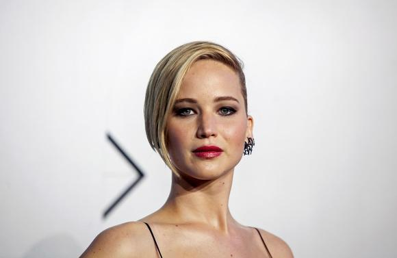 Actress Jennifer Lawrence attends the ''X-Men: Days of Future Past'' world movie premiere in New York May 10, 2014.  REUTERS/Eric Thayer/Files