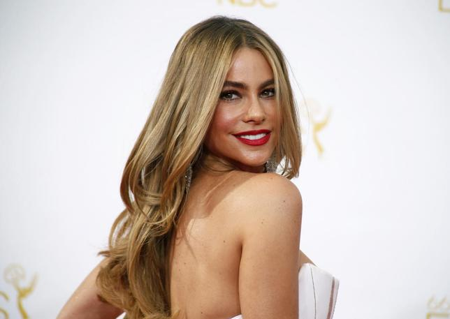 Actress Sofia Vergara from the ABC sitcom ''Modern Family'' arrives at the 66th Primetime Emmy Awards in Los Angeles, California in this file photo from August 25, 2014.   REUTERS/Lucy Nicholson/Files