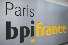 BPI France a fortement augmenté tant ses financements que ses investissements dans les PME et les ETI (entreprises de taille intermédiaire) au premier semestre, selon les chiffres publiés jeudi par l'établissement public. /Photo d'archives/REUTERS/Benoit Tessier