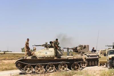U.S. says forms 'core coalition' to counter Iraq...