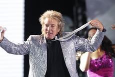 Rod Stewart durante show no Chile em fevereiro.  REUTERS/Eliseo Fernandez