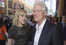 "Actors Jena Malone and Richard Gere arrive for the ""Time Out of Mind"" gala at the Toronto International Film Festival (TIFF) in Toronto, September 7, 2014.    REUTERS/Mark Blinch"
