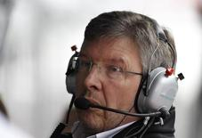 Ex-chefe da equipe Ferrari Ross Brawn durante GP da China. 15/04/2012 REUTERS/Aly Song