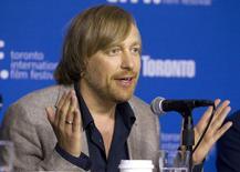 """Diretor Morten Tyldum em coletiva de imprensa para promover seu filme """"The Imitation Game"""",  durante o Festival de Cinema de Toronto. 9/09/2014.  REUTERS/Fred Thornhill"""