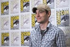 "Director Wes Ball poses at a press line for ""The Maze Runner"" during the 2014 Comic-Con International Convention in San Diego, California July 25, 2014.  REUTERS/Mario Anzuoni"