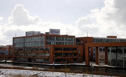 Infineon Technologies versera 260 millions d'euros pour régler en partie un contentieux avec son ancienne filiale Qimonda,  déclare mercredi l'administrateur judiciaire de cette dernière. /Photo prise le 28 janvier 2014/REUTERS/Michael Dalder