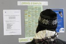 Le taux de chômage est resté stable à 11,5% en août dans la zone euro, comme en juin et juillet, /Photo d'archives/REUTERS/Eric Gaillard