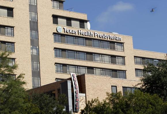 A general view of Texas Health Presbyterian Hospital in Dallas, Texas October1, 2014. REUTERS/Mike Stone