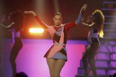 Australian recording artist Iggy Azalea performs during the 2014 iHeartRadio Music Festival in Las Vegas September 20, 2014. REUTERS/Steve Marcus
