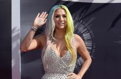 Kesha arrives at the 2014 MTV Music Video Awards in Inglewood, California August 24, 2014.  REUTERS/Kevork Djansezian
