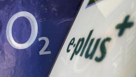 Telefonica Deutschland compte supprimer 1.600 emplois en Allemagne d'ici 2018 à la suite de l'achat du concurrent E-Plus. /Photo d'archives/REUTERS/Michaela Rehle
