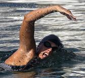 Nadadora australiana de longa distância Chloe McCardel, em foto de arquivo. 12/06/2013 REUTERS/Desmond Boylan
