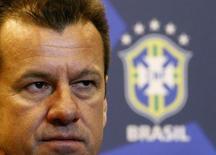 Técnico Dunga durante coletiva de imprensa sobre a seleção brasileira no Rio de Janeiro. 22/07/2014. REUTERS/Ricardo Moraes