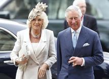O príncipe britânico Charles e sua mulher, Camilla, duquesa da Cornualha, em Londres, em março. 10/03/2014 REUTERS/Olivia Harris
