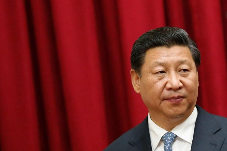 China's President Xi Jinping attends a meeting in Caracas, in this July 20, 2014 file picture. REUTERS/Jorge Silva/Files