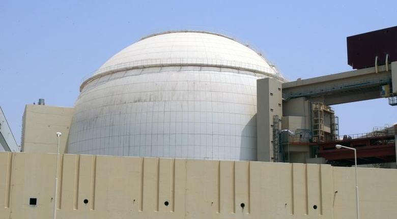 A general view of the Bushehr main nuclear reactor, 1,200 km (746 miles) south of Tehran, August 21, 2010.  REUTERS/Raheb Homavandi